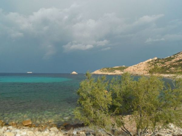 Orage en Corse