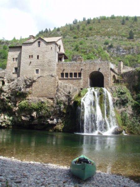 Canoë sur le Tarn